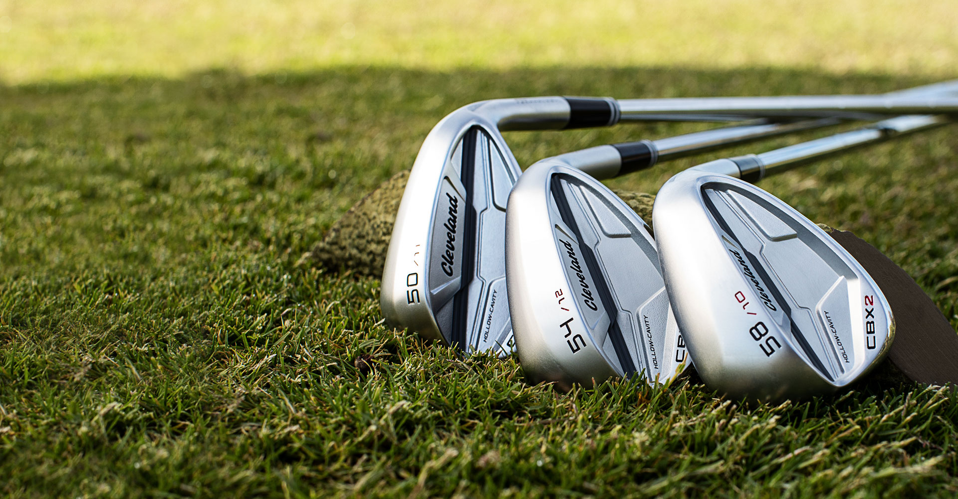 CBX2 3 Wedges on Grass