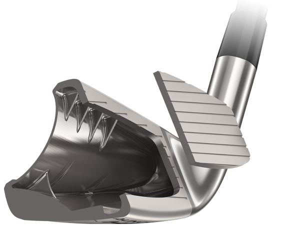 Cleveland Golf Launcher HB Turbo Irons Face