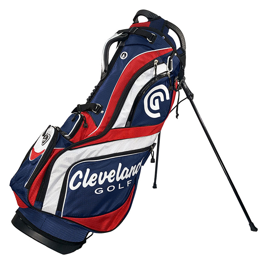 STAND BAG,Navy/Red/White