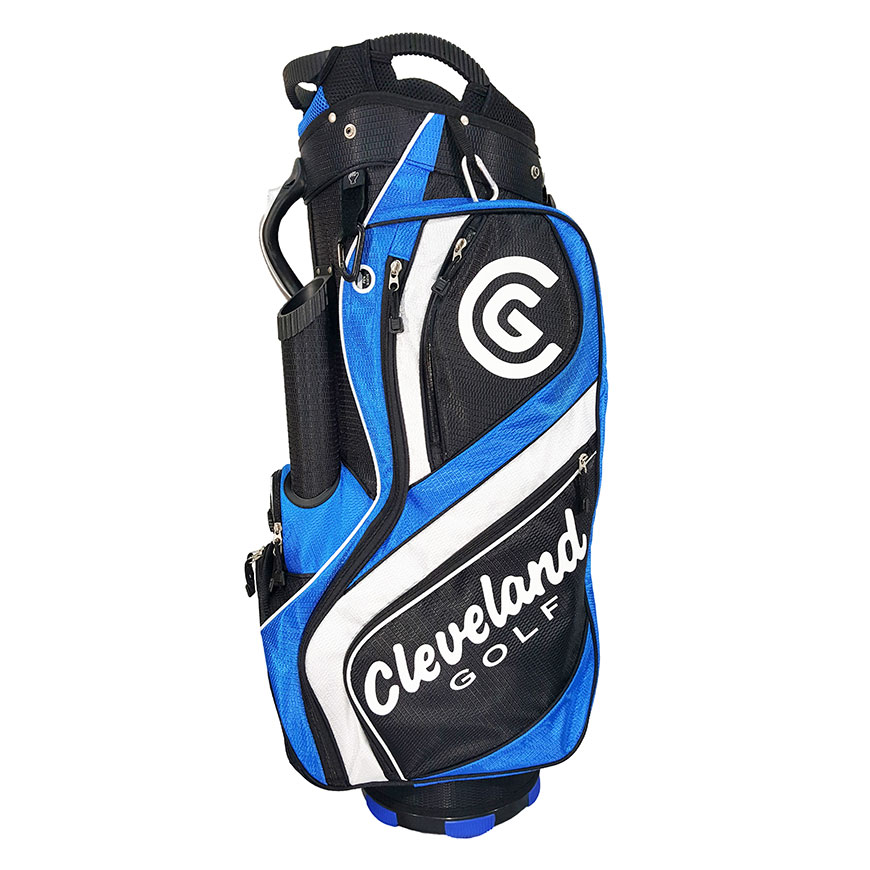 CART BAG,Black/Blue/White